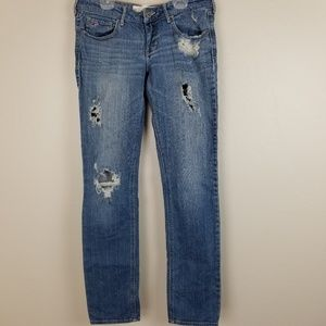 HOLLISTER - 7R distressed jeans